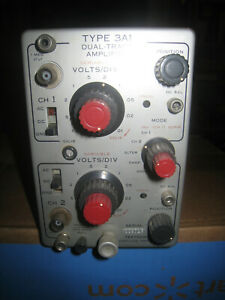 Tektronix 3a1 Dual Trace Amplifier For 560 Series Oscilloscope Used Low Hours