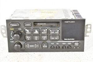 97 04 Corvette C5 Delco Cassette Deck Radio Head Unit Am Fm Aa6570