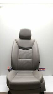 15 17 Cadillac Xts Driver Left Front Bucket Seat Gray Leather