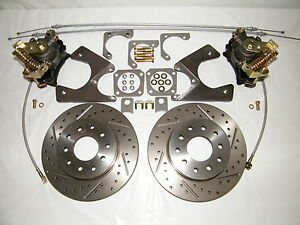 Gm 10 12 Bolt Rear Disc Brake Conversion Kit Gm Cars Bel Air Impala Caprice