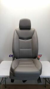 15 17 Cadillac Xts Passenger Right Front Bucket Seat Gray Leather 8 Way