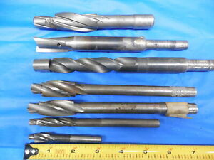 7pc Lot Of Counterbores For Brideport Milling Machine Southbend Lathe Tooling
