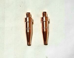 New Victor Style 000 3 101 Acetylene Cutting Torch Tip Lot Of 2 Ca1350 Cst800