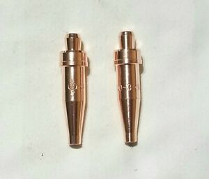 New Victor Style 00 3 101 Acetylene Cutting Torch Tip Lot Of 2 Ca1350 Cst800