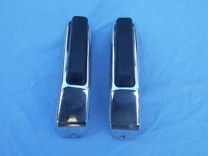 Nos 1974 1975 Chevy Chevelle Front Accessory Bumper Guards 994583 994758 1 Pair