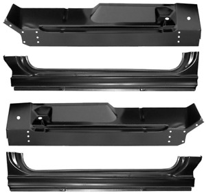 60 66 Chevy Truck Lh Rh Side Complete Outer Cab Floor Rocker Patch Panels