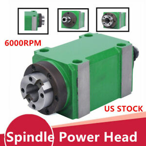 Professional Bt30 Cnc Spindle Power Head 6000rpm Milling Waterproof Power Head
