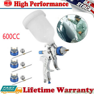New Air Spray Gun Hvlp Kit 2 0mm Nozzle Paint Touch Up Gravity Feed Atomization