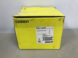 Caddy Ec3114z34 Electrical Drop Wire Rod Securing Clip Box Of 100