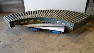 Hytrol Powered Roller Conveyor 190 lrc 180 Degree Section 39 Wide 1 2 Hp 88459