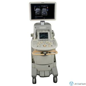Philips Iu22 Ultrasound System Cart Revision D 2 With C5 1 C8 4v C8 5 Probes