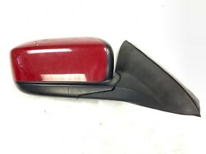 03 07 Accord Coupe 2dr Right Door Rear View Mirror Power Painted Red Oem