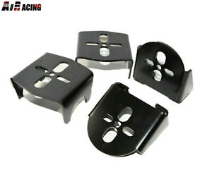 Weld On Upper Lower Air Bag Mounting Brackets Mounts Suspension Rear 2 75 Axle