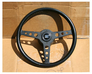Vintage Stacked Momo Le Man Compe Prototipo 355mm 230 Porsche 911 Steering Wheel