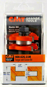 Cmt 800 626 11m Bit For Cutting Grooves 3 4 inch Cutting Length 1 2 inch Shank