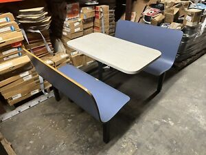Waymar Restaurant Cafeteria Booth Table Tables Seat Booths Seats Seating Contour