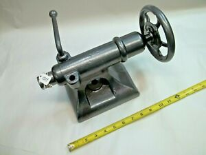 Lathe Tail Stock 1 1 4 Diameter Quill 5 5 16 From Bottom To C l Of Quill