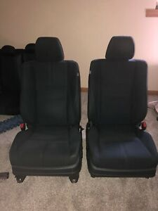 2010 2015 Honda Accord Crosstour Front Bucket Seats Cloth And Power