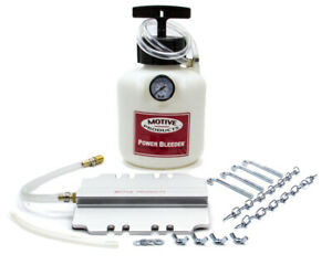 Motive Products Brake Power Bleeder System P n 105