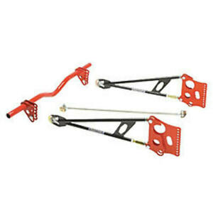 Chassis Engineering Ladder Bar Suspension Kit W Round X Member P N C E3627