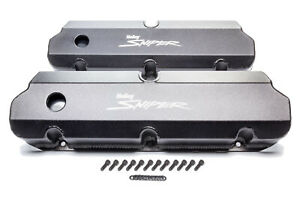 Holley Sniper Fabricated Valve Covers Sbf Tall P n 890011b