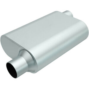 Magnaflow Perf Exhaust Rumble Aluminizd Muffler 3in Offset In Out P N R23043
