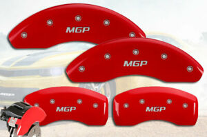 2020 Forte 2 0l Front Rear Red mgp Brake Disc Caliper Covers 4pc Set