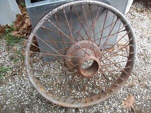 House Houk Knock Off Wire Wheel 24 Ford Stanley Reo Chevy 490 1920 Trog Rat Rod