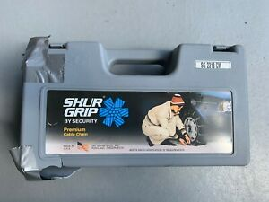 Shure Grip Tire Cables Chains Sg 2313 Cm For Pick Up Trucks And Suvs Snow