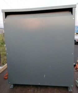 Nice Square D Sorgel 300t3h 300 Kva 480 120 208v 3 phase Insulated Transformer