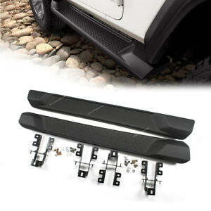 Running Boards Side Step Black Fits 18 20 Jeep Wrangler Jl 2 door Oe Style