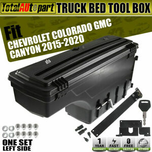 Truck Swing Case Storage Box Toolbox For Chevrolet Colorado Gmc Canyon 2015 2020