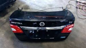 Trunk hatch tailgate S Without Spoiler Fits 13 15 Sentra 181532
