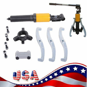 15t Hydraulic Gear Bearing Wheel Bearing Puller 3 Jaws Extractor Puller