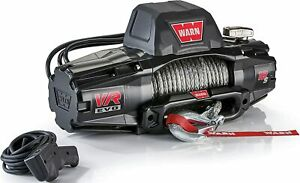 Warn 103255 Vr Evo 12 S Standard Duty Winch With Synthetic Rope 12 000 Lb Cap