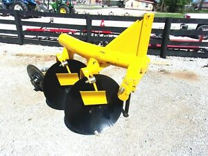 New Dhe 2 Disc Plow 3 Pt free 1000 Mile Delivery From Ky