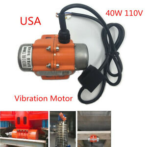 Best 40w 110v Ac Vibration Motor Single Phase To Make Concrete Counter Tops