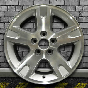 Machined Medium Sparkle Silver Oem Wheel For 2005 Ford Explorer 16x7