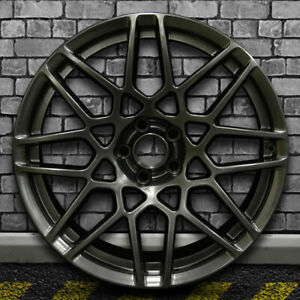 Hyper Dark Smoked Silver Oem Front Wheel For 2013 2014 Ford Mustang 19x9 5