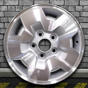 Machined Medium Sparkle Silver Oem Wheel For 1994 2003 Gmc Sonoma 4x4 15x7