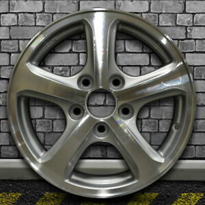 Machined Bright Fine Silver Oem Wheel For 2012 2015 Honda Civic 15x6