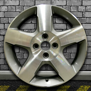 Machined Center Gray Charcoal Oem Factory Wheel For 2010 Chevy Cobalt 16x6