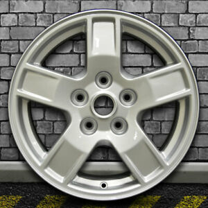 Bright Fine Silver Oem Factory Wheel For 2005 2007 Jeep Grand Cherokee 17x7 5