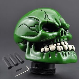 Car Gear Shift Knob Shifter Lever Green Skeleton Handle Control For Ford Mustang