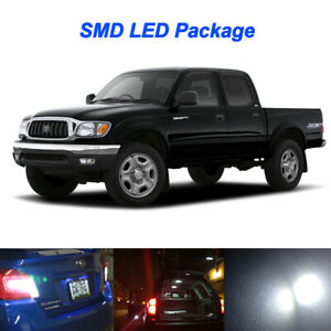White Led Interior Bulbs License Plate Reverse Light For 1995 2004 Toyota Tacoma