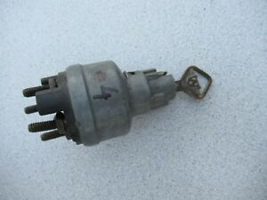 Vintage Ford Ignition Switch With Key C 13