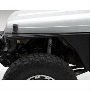Smittybilt 76862 Xrc Front Tube Fenders Blk Textured For Jeep 87 95 Wrangler Yj