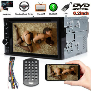 For Gmc Sierra 1500 2500 3500 Hd Car Cd Dvd Radio Bluetooth Stereo 2 Din