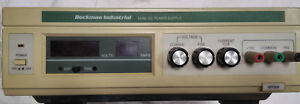 Dual Dc Power Supply Beckman Industrial Mps60 Healthcare Lab Science Equipment