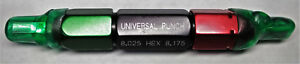 Universal Punch Tool Industrial Manufacturing Metalworking 8 025 Hex 8 175 8mm